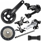 Shimano MT600 2x11 XT/SLX Mix Groupset