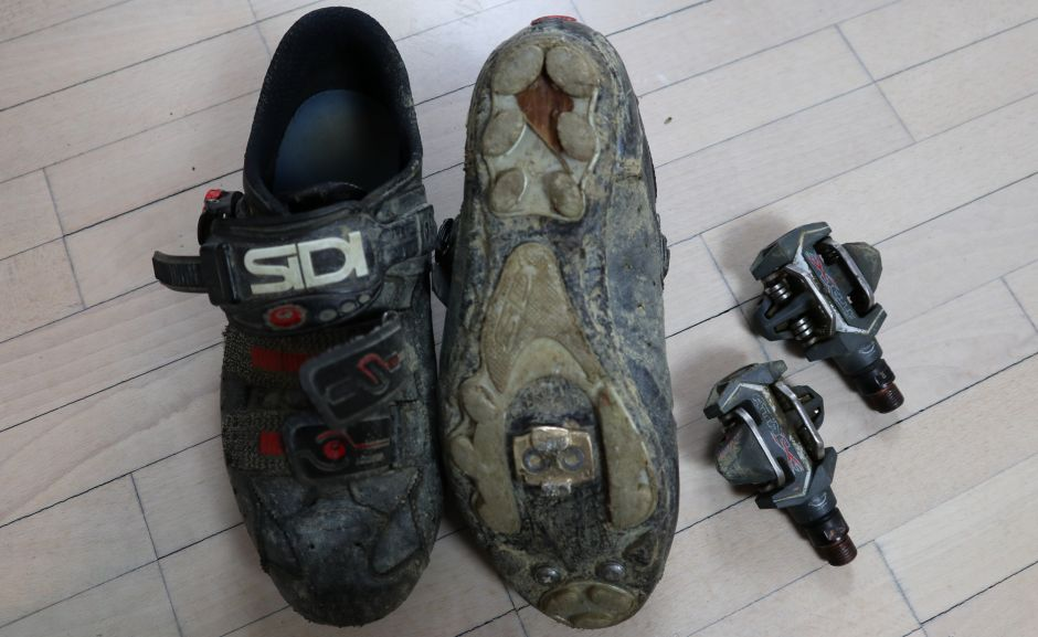 Time ATAC pedals and SIDI shoes